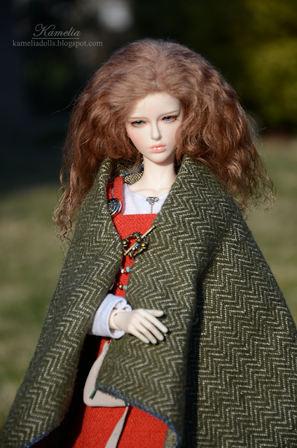 Viking outfit for 1/4 BJD doll