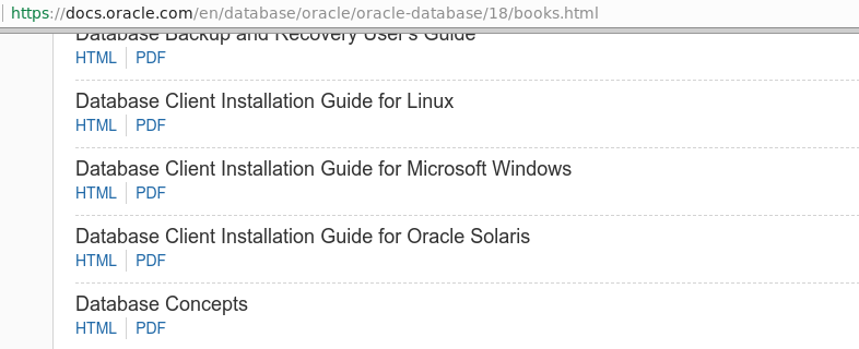 Run like Hell: Oracle Database Software Downloads: 18c released