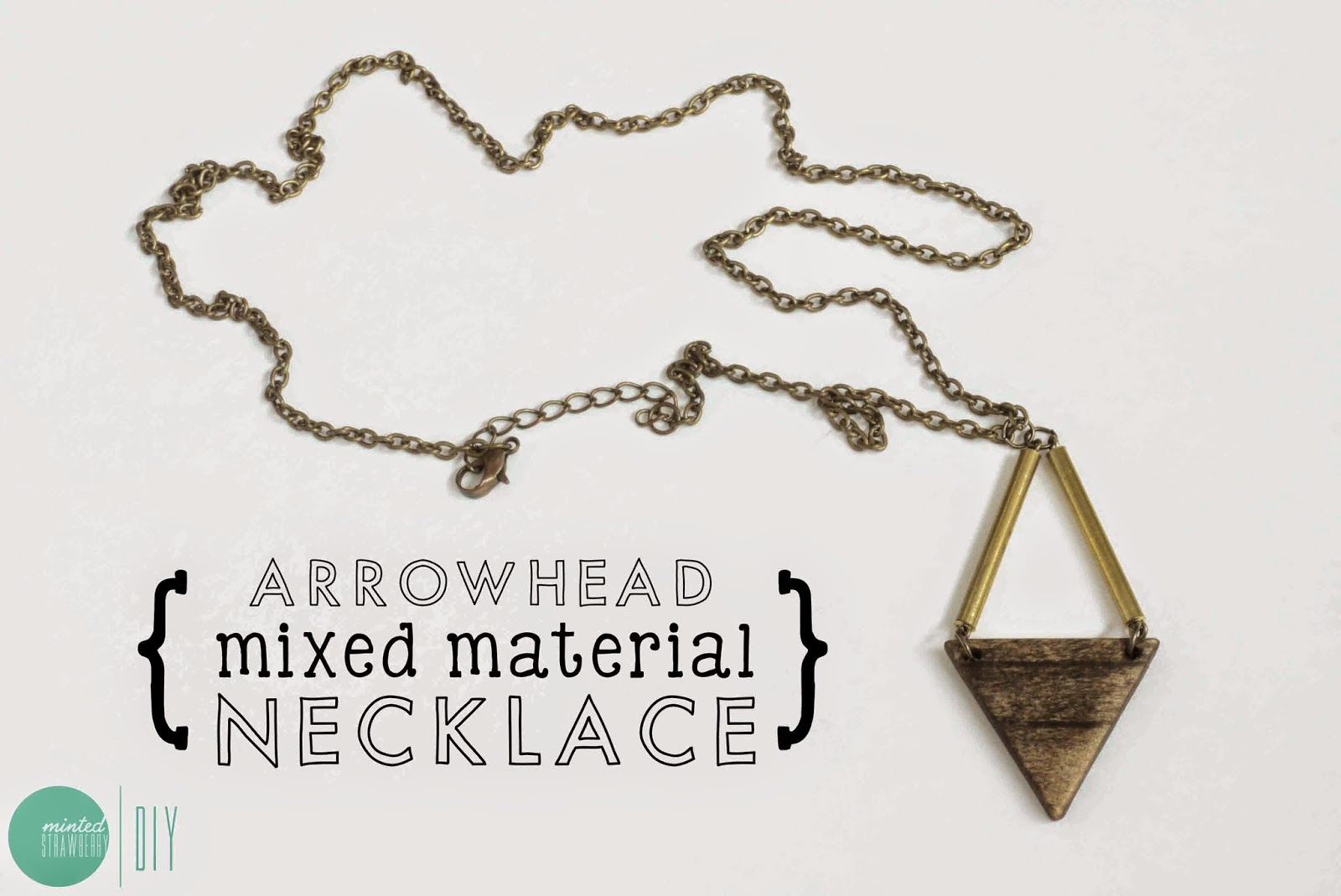 DIY Arrowhead Mixed Material Necklace | Dremel Projects To Make America Great Again