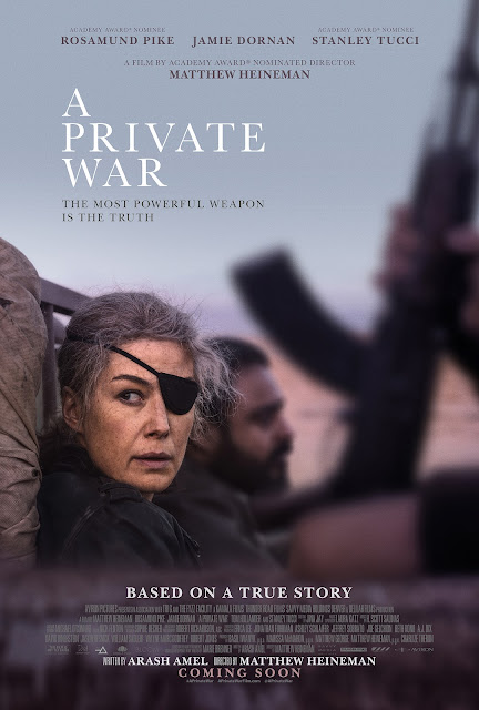 A PRIVATE WAR (2018) ταινιες online seires oipeirates greek subs