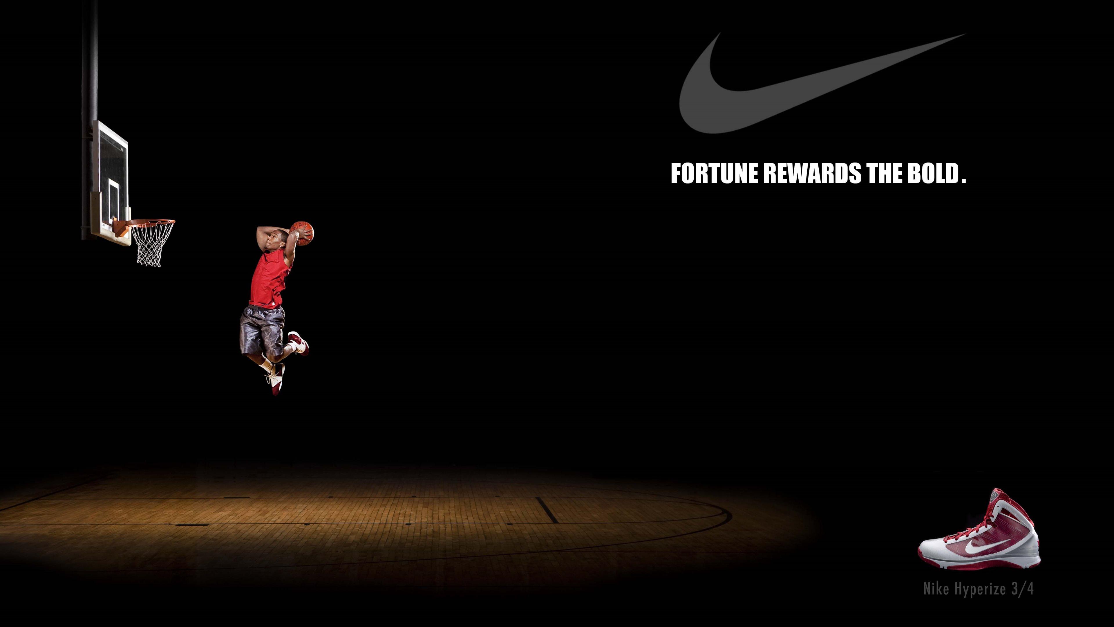 3840x2160px Nike Basketball Wallpaper