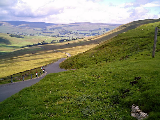 A View from Fleet Moss Looking Back Towards Hardraw and Hawes