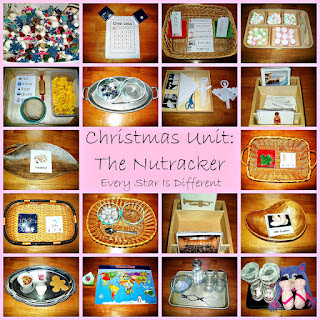 Nutcracker learning activities with free printables for kids.
