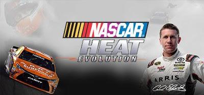 صورة  لتجربة العبة NASCAR Heat Evolution سباق السيارات القوي في جهاز الحاسوب