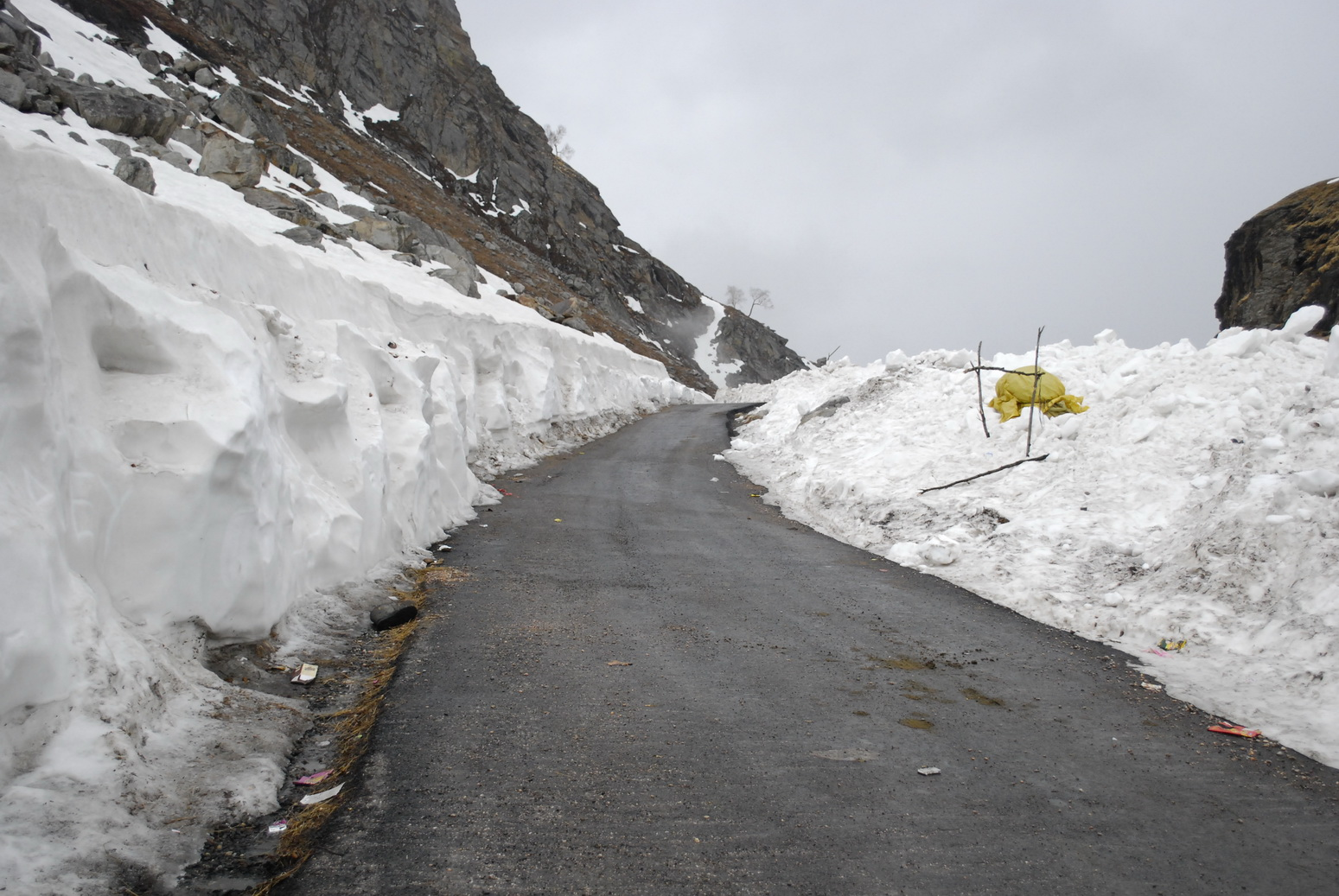 Rohtang Pass A Tunnel Road Of Himachal Pradesh India
