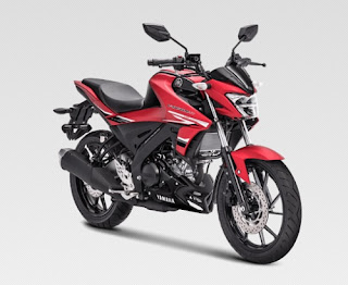 All New Yamaha Vixion R Matte Red