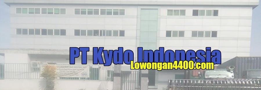 Lowongan Kerja PT. KYDO INDONESIA Karawang