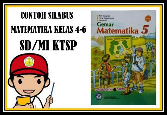 Download Contoh Silabus Matematika Kelas 4-6 SD/MI KTSP