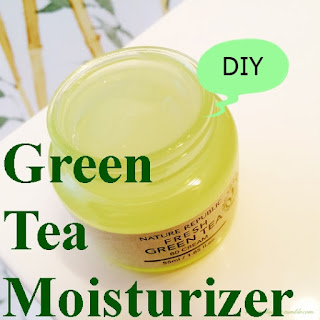 Diy Green Tea Moisturizer