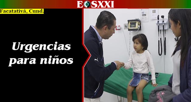 Hospital de Facatativá abrió servicio pediátrico exclusivo para la Central de Urgencias