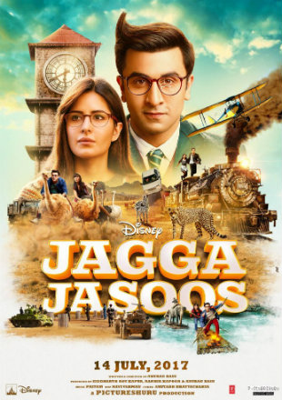 Jagga Jasoos 2017 BluRay 450MB Full Hindi Movie Download 480p ESub ESub Watch Online Free bolly4u