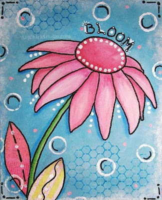 Bloom Mixed Media