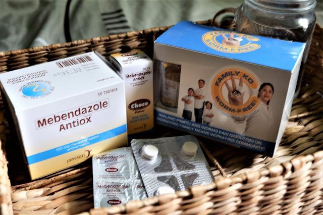 Mebendazole Antiox