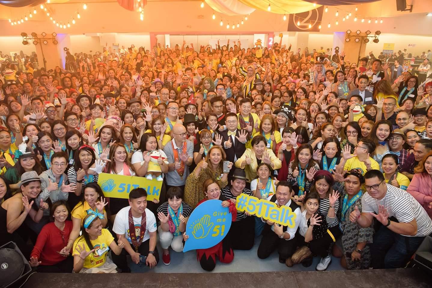 51Talk currently employs 16,000 Filipino teachers