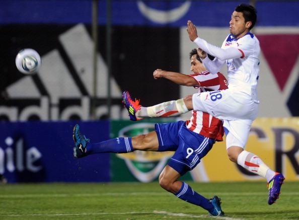 Paraguay y Chile en partido amistoso, 23 de junio de 2011