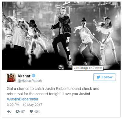 Justin Bieber's Mumbai Concert Ends,   But there's no stopping the jokes on Twitter