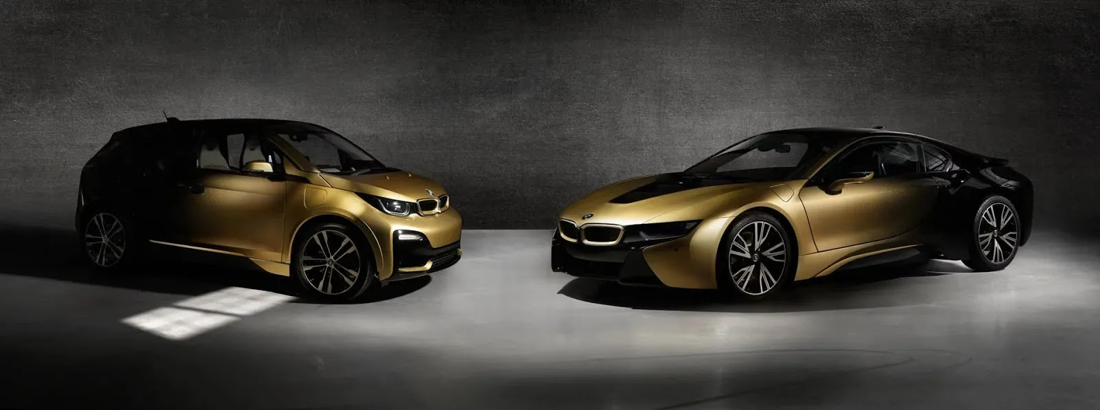 BMW i3 And i8 Starlight Editions Feature Real 24-Carat Gold Paint