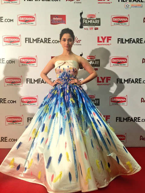 Filmfare-Awards-South 2016-actress-red-carpet-samantha