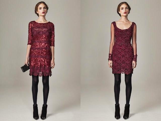 sukienki szydelkowe