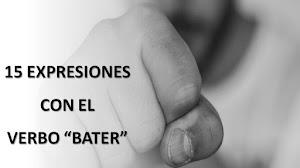 """PORTUGUÉS: 15 EXPRESIONES CON EL VERBO """"BATER"""" Y SU TRADUCCIÓN AL ESPAÑOL"""
