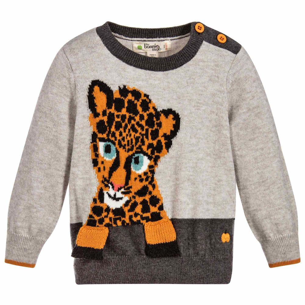 must have of the day super soft and cosy grey sweater for boys and