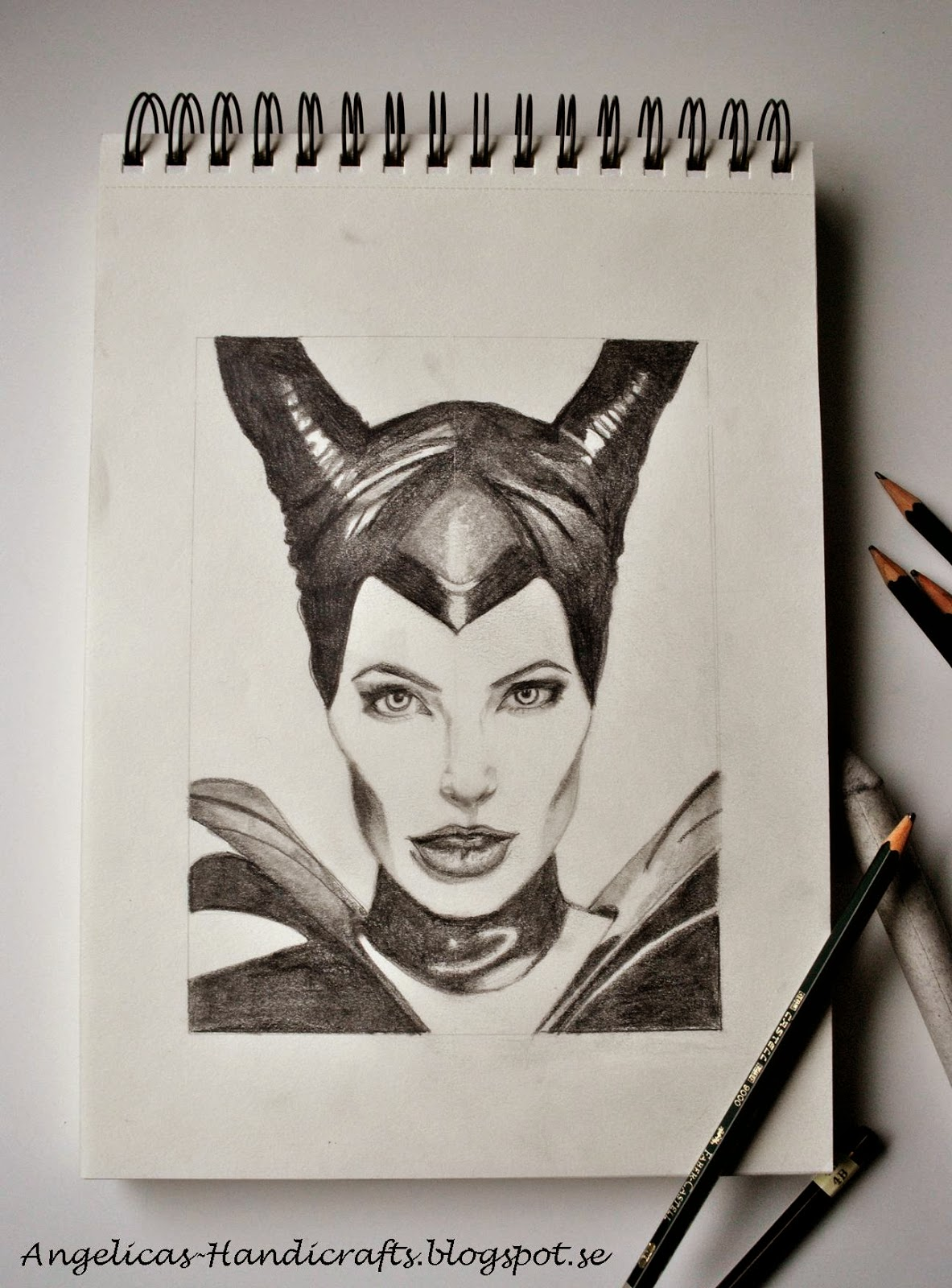 I think angelina jolie is a great actress and even if she is not my favourite i think she is giving this character full life i made this drawing