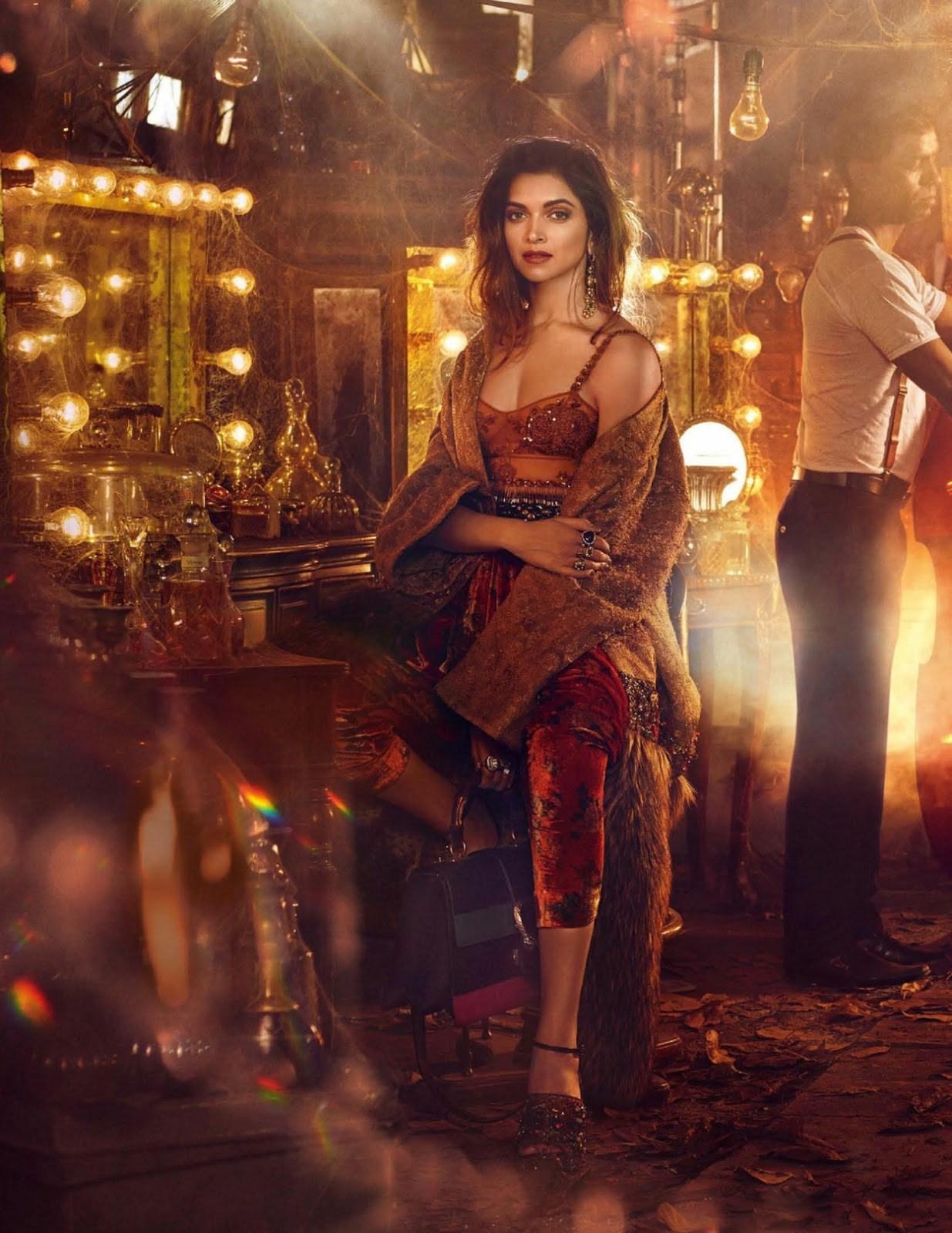 Deepika Padukone on Vogue India Magazine Cover November 2016 Issue 04