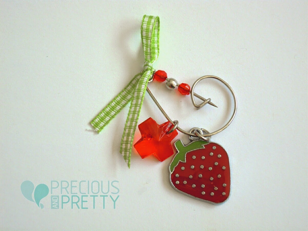 Strawberry martyrika safety witness pins M22