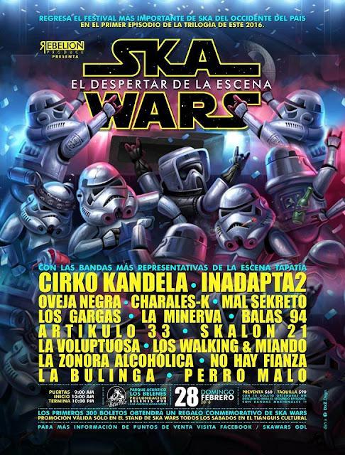 """Ska Wars """"El despertar"""""""