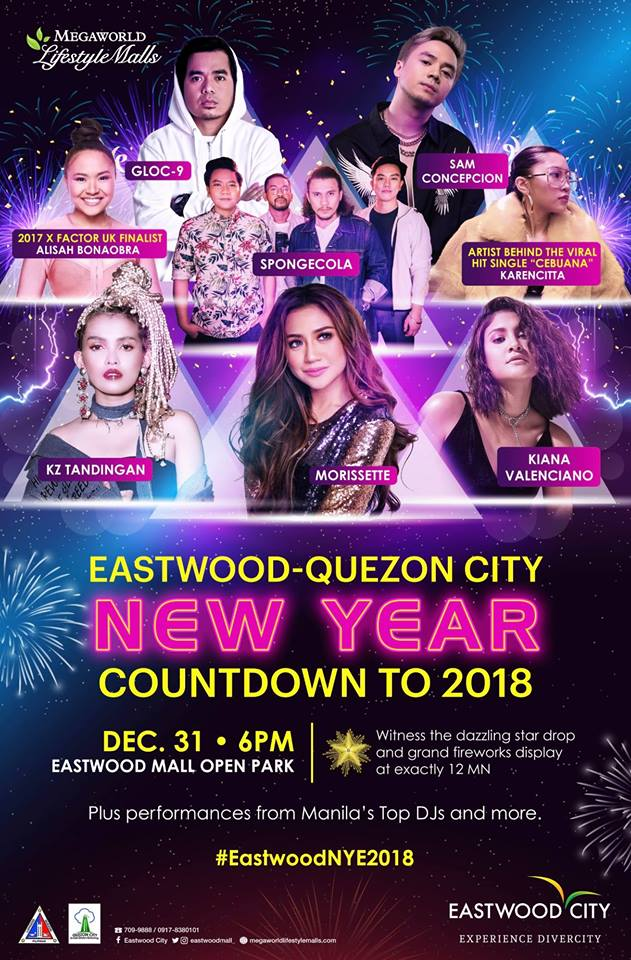 Eastwood - Quezon City New Year Countdown to 2018