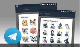 Begini Cara download Stiker Baru di Telegram dengan mudah