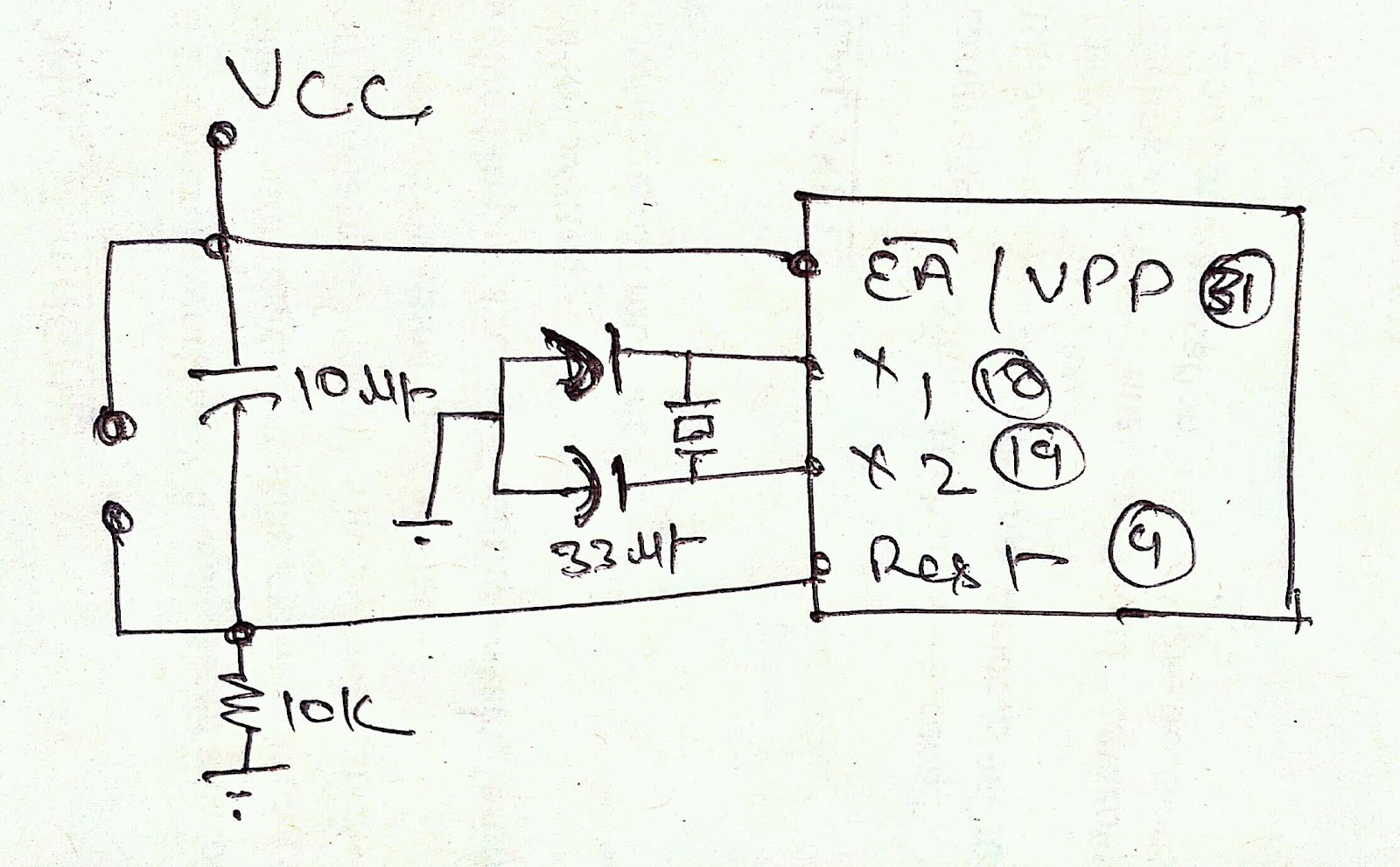 8051   8025    avr burner cricket kit  8051  52  u0026 avr burner kit circuit