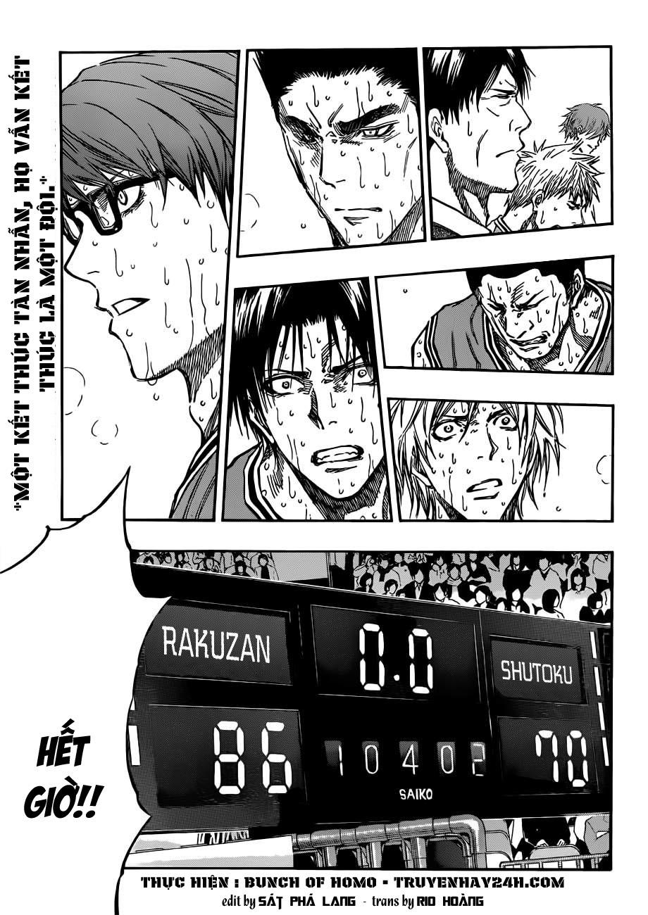 Kuroko No Basket chap 183 trang 1