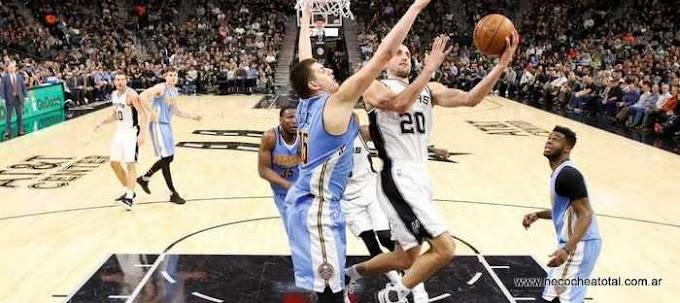 Con Ginóbili, San Antonio Spurs ganó
