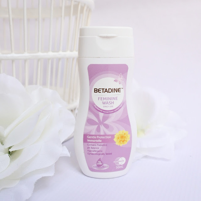 Review BETADINE Feminine Wash Liquid