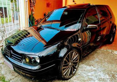 """Golf GTI Rebaixado Rodas 20"""""""