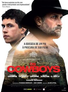 """Poster do filme """"Os Cowboys"""""""