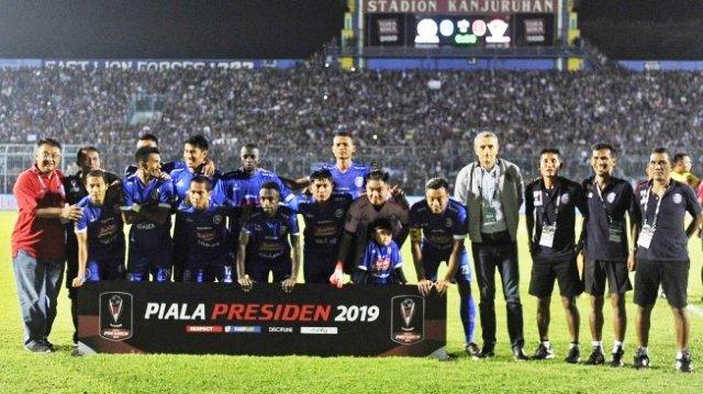 Arema FC Juara Piala Presiden 2019, Kalahkan Persebaya
