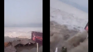 Berita Terhangat Video Tsunami Di Palu Usai Gempa 7,7 Sr, Kendaraan Beroda Empat Dan Motor Tersapu Gelombang Besar
