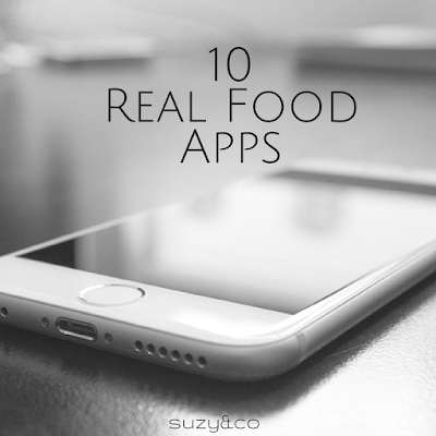 10 real food apps