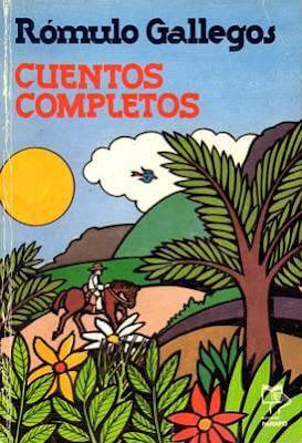 Carátula de Cuentos completos (Rómulo Gallegos - 1992)