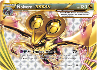Noivern BREAK BREAKthrough Pokemon Card
