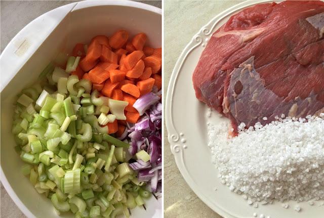 concentrato di carne fatto in casa