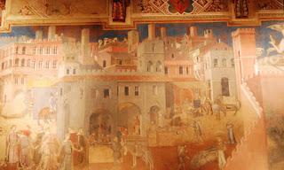 Ambrogio Lorenzetti, les effets du bon et du mauvais gouvernement