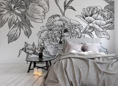 Vinilo-floral