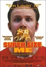 """Carátula del DVD: """"Super Size Me"""""""