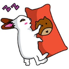 cute bunny momo