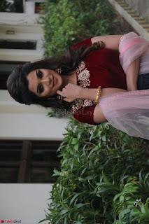Actress Aathmika in lovely Maraoon Choli ¬  Exclusive Celebrities galleries 042.jpg