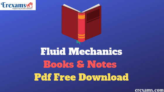 Fluid Mechanics Books and Notes Pdf Free Download