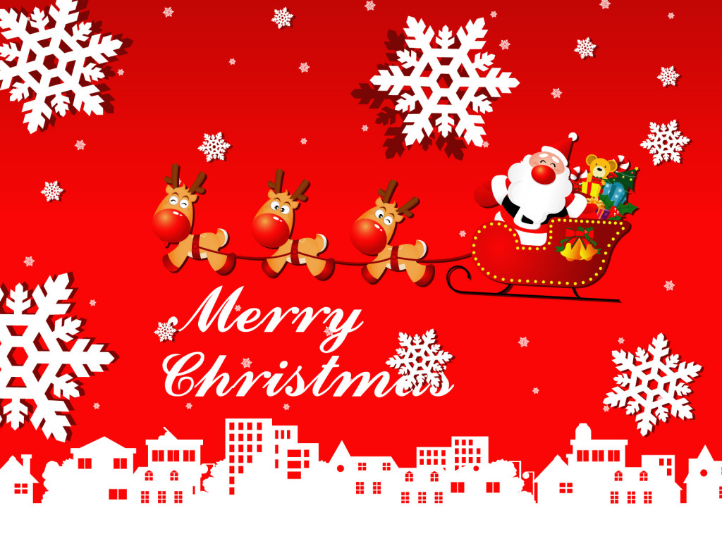 Christmas wallpaper 3d wallpaper nature wallpaper - Anime merry christmas wallpaper ...